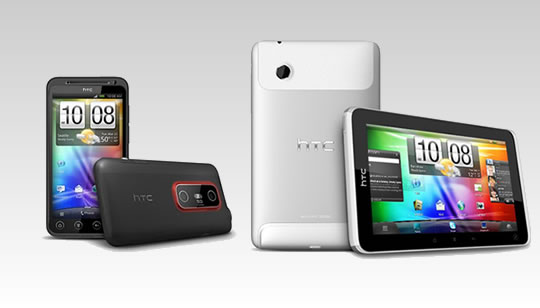 HTC EVO 3D y HTC EVO View 4G en Sprint