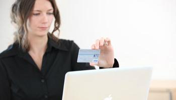 Lector de tarjetas de credito webcam