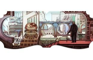 Google Doodle Jorge Luis Borges