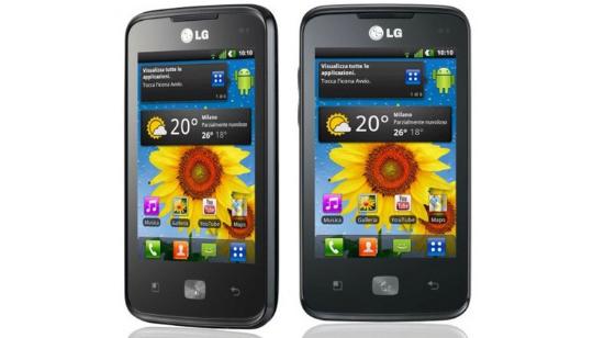 Foto LG Optimus Hub