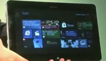 Foto Tablet Samsung con Windows 8
