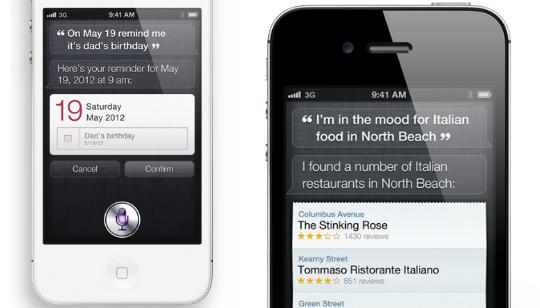 Siri - Asistente de Voz - Apple iPhone 4S