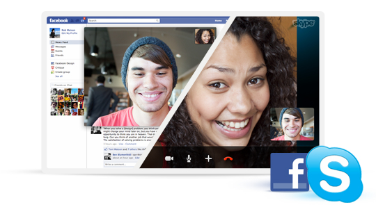 Video llamadas gratis Skype a Facebook
