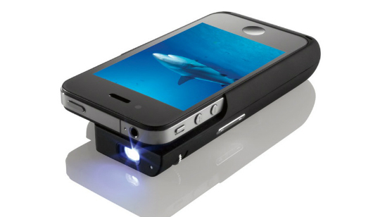 iPhone Pocket Projector