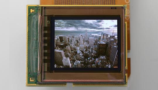 MicroOLED pantalla OLED
