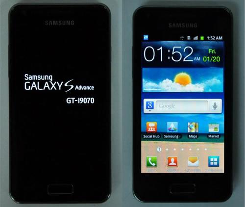 Samsung Galaxy Advance GT-I9070