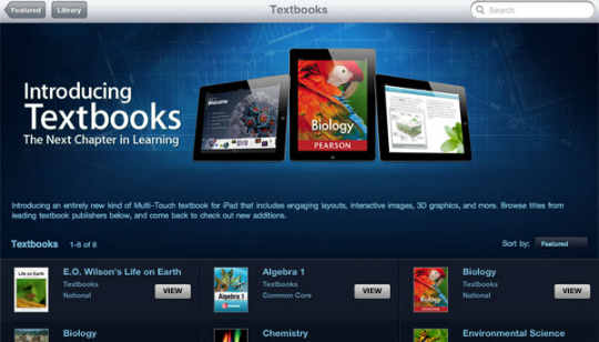 iBooks 2 - Apple Textbooks