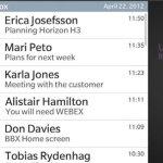 BlackBerry 10 Universal Inbox