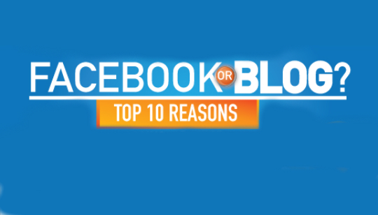 Facebook or Blog