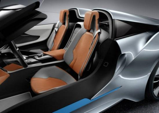 BMW i8 Spyder Sillas