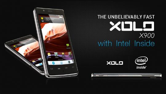 Celular Intel Xolo X900