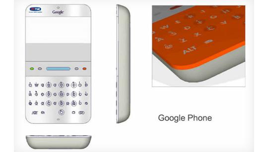 Primer Teléfono Celular de Google