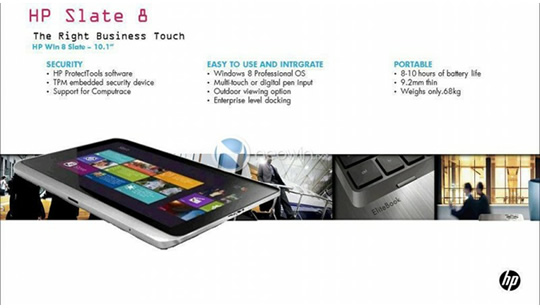 Tablet Windows 8 HP
