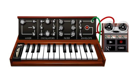 Doodle Robert Moog