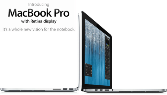MacBook Pro con Retina Display