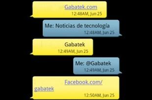 Texto GABATEK