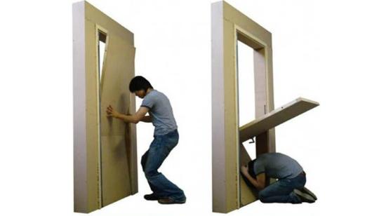 Puerta para Terremotos