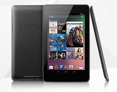 Características Nexus 7