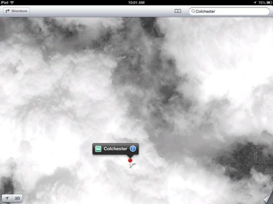 Fallas Apple Maps