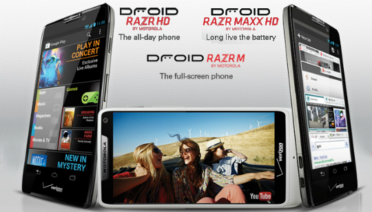 Motorola RAZR HD Celular
