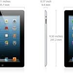 iPad 4 Dimensiones