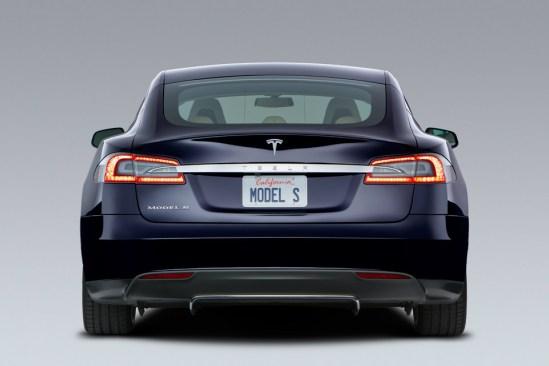Atras Tesla Model S