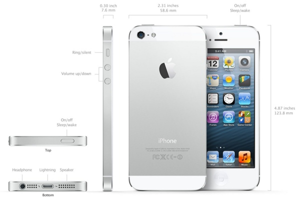 iPhone 5 Características