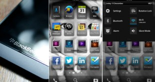 Interfaz BlackBerry 10