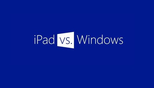 Comparación iPad Windows
