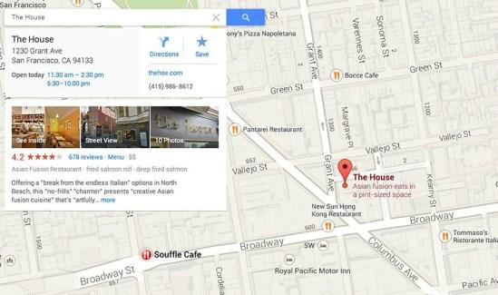 Google Places Google Maps