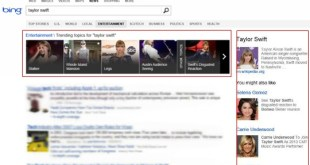 Knowledge Graph Bing News
