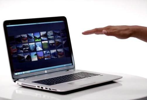 Computador con Leap Motion