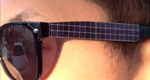 Gafas de Sol con Paneles Solares