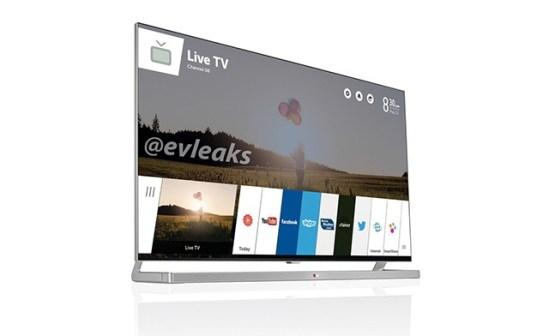TV LG WebOS CES 2014