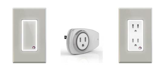 Plum Interruptor Enchufe