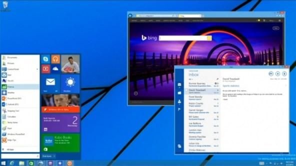 Windows 8.1 Menu de Inicio
