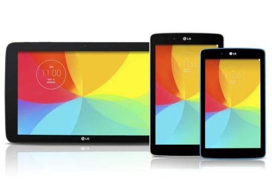 LG G Pad 7 8 10