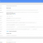 Menu Gmail