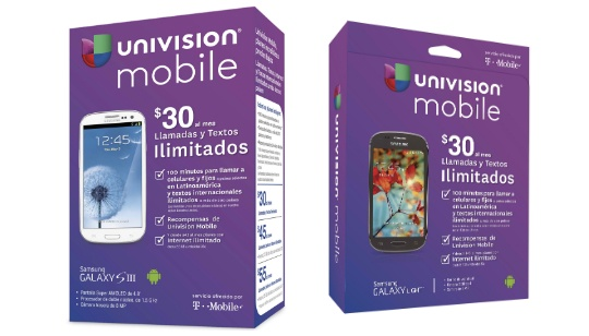 Univision Mobile T-Mobile Estados Unidos