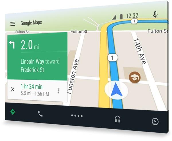 Android Auto navegacion