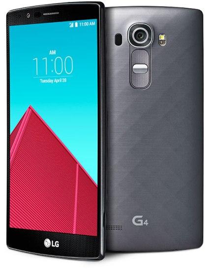 LG G4 Negro metal