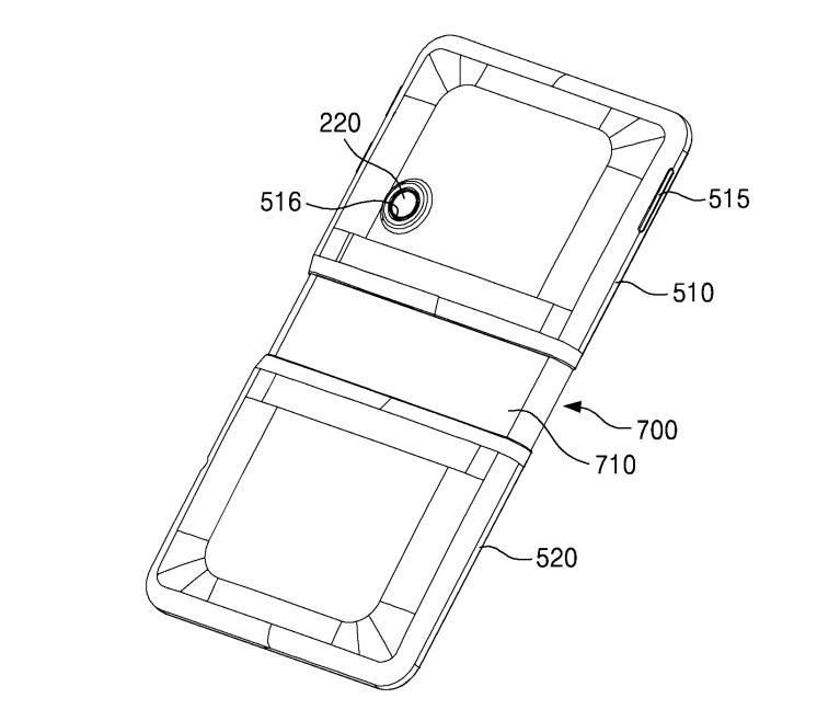 Así podría ser el diseño de celular Samsung con pantalla