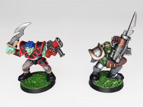 Mutant Chronicles - WarZone - Necromutant and Centurion