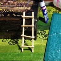 scratch-built ladder