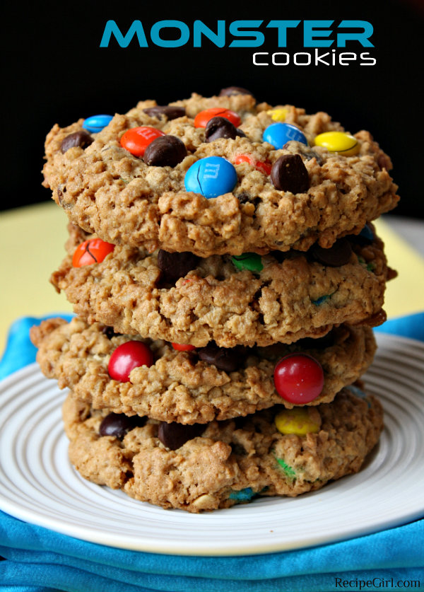 30 FOR 30: Football Favorites Countdown- Monster Cookies