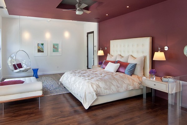 Room Envy: A Modern Bedroom That's All Rosy