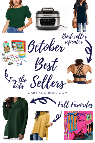 October Best Sellers