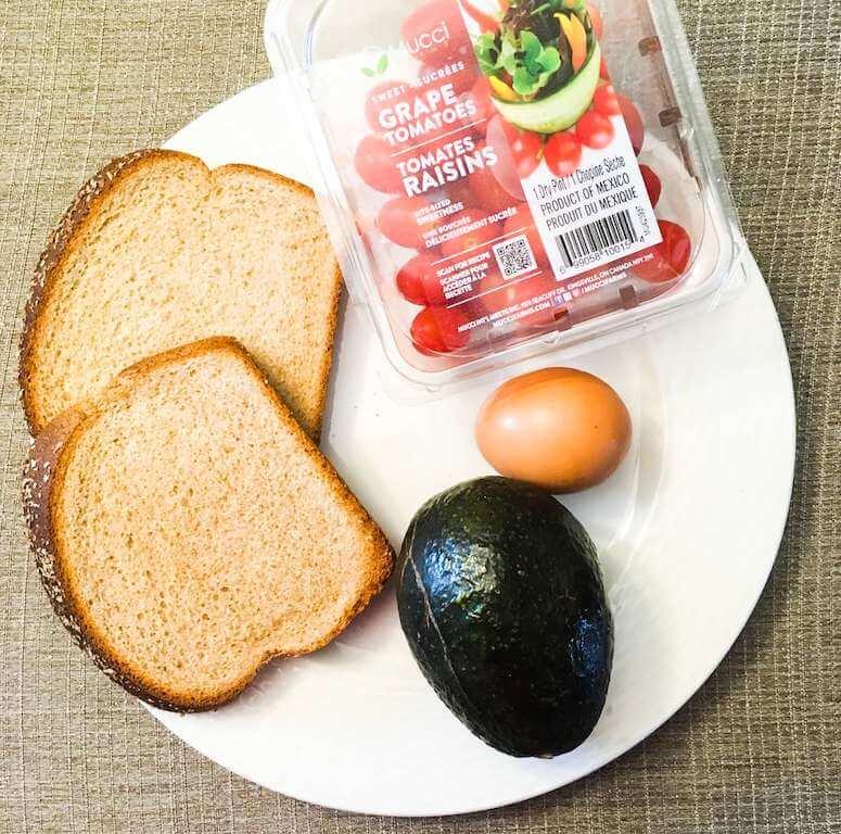 Avocado Toast Ingredients