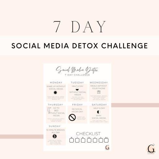 A 7 Day Social Media Detox Challenge