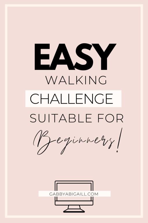 easy walking challenge for beginners